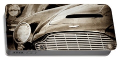 1965 Aston Martin Db6 Short Chassis Volante Grille-0970scl Portable Battery Charger