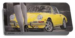 1968 Porsche 911 Targa Portable Battery Charger