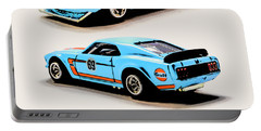 1969 Ford Mustang Boss 302 Portable Battery Charger