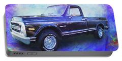1970 Chevy C10 Pickup Truck Portable Battery Charger