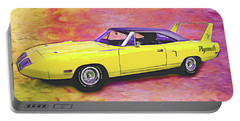 1970 Superbird Portable Battery Charger