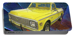 1972 Chevy Pickup Truck Portable Battery Charger