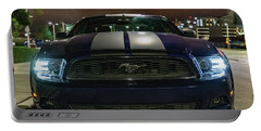 Portable Battery Charger featuring the photograph 2014 Ford Mustang by Randy Scherkenbach