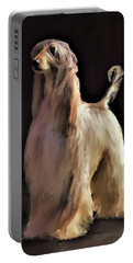 Afghan Hound Portable Battery Charger