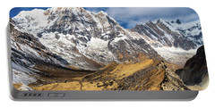 Annapurna South Peak In Nepal Portable Battery Charger