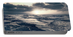 Atlantic Ocean Sunrise Portable Battery Charger