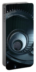 Blue Spiral Staircase Portable Battery Charger