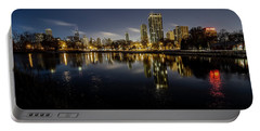 Chicago Skyline At Dawn  Portable Battery Charger