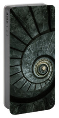 Dark Spiral Staircase Portable Battery Charger