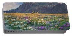 Desert Sand Verbena, Desert Sunflower Portable Battery Charger