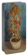 Flame Nettle In A Flowerpot Portable Battery Charger
