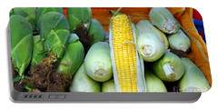 Fresh Corn Cobs Portable Battery Charger