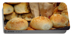 Freshly Baked Buns With Stuffing Portable Battery Charger