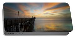 Oceanside Pier Sunset Portable Battery Charger