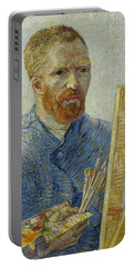 Self-portrait As A Painter Portable Battery Charger