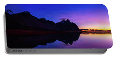 Stokksnes Sunrise Portable Battery Charger