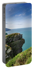 Valley Of The Rocks Views Portable Battery Charger