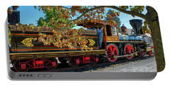 Portable Battery Charger featuring the photograph York 17 Steam Engine by Mark Dodd