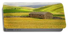 Yorkshire Dales Landscape Portable Battery Charger