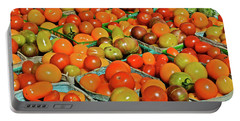 2019 Farmers' Market Spring Green Cherry Tomatoes Portable Battery Charger