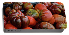 2019 Farmers' Market Spring Green Heirloom Tomatoes 1 Portable Battery Charger