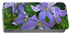 2019 June At The Gardens Prince Charles Clematis Portable Battery Charger