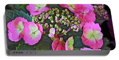 2019 June At The Gardens Tuff Stuff Hydrangea Portable Battery Charger