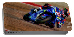 2019 Motogp Alex Rins Suzuki Portable Battery Charger