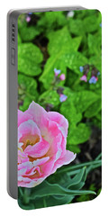 2019 Vernon Pink Tulip 1 Portable Battery Charger