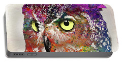 Owl Head Portable Battery Charger
