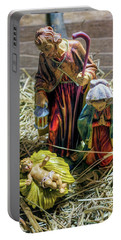 Birth Of Jesus Portable Battery Charger