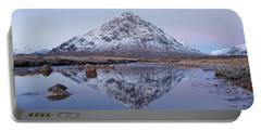 Portable Battery Charger featuring the photograph Dawn In Glencoe by Stephen Taylor