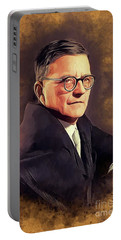 Dmitri Shostakovich, Famous Composer Portable Battery Charger