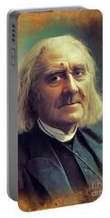 Franz Liszt, Famous Composer Portable Battery Charger