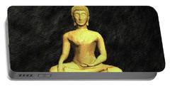 Golden Buddha Portable Battery Charger