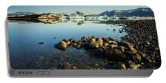 Jokulsarlon Lagoon, Iceland Portable Battery Charger