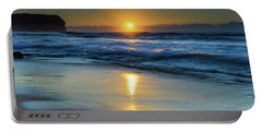 Sunrise Lights Up The Sea Portable Battery Charger