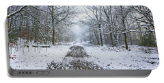 30/01/19  Rivington. Lower Barn. Arboretum Path. Portable Battery Charger