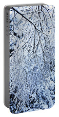 30/01/19  Rivington. Snow Covered Branches. Portable Battery Charger