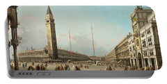 Piazza San Marco Looking South And West Portable Battery Charger