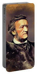 Richard Wagner, Famous Composer Portable Battery Charger