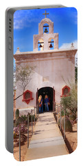 San Xavier Del Bac Az Portable Battery Charger