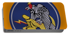 496th Tactical Fighter Squadron  Portable Battery Charger