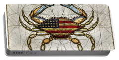 4th Of July Crab Portable Battery Charger