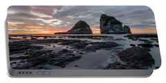 Motukiekie Beach - New Zealand Portable Battery Charger