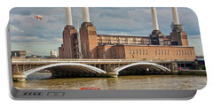 Pink Floyd Pig At Battersea Portable Battery Charger