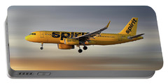 Spirit Airlines Airbus A320-232 Portable Battery Charger