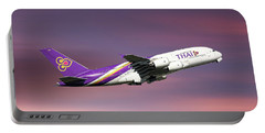 Thai Airways Airbus A380-841 Portable Battery Charger