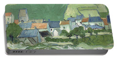 View Of Auvers Portable Battery Charger
