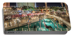 View Of The Venetian Hotel Resort And Casino Portable Battery Charger